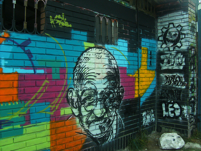 MOHANDAS KARAMCHAND GANDHI by Assi-one on Flickr.A través de Flickr: A CLAQUE DE O BRITALIA