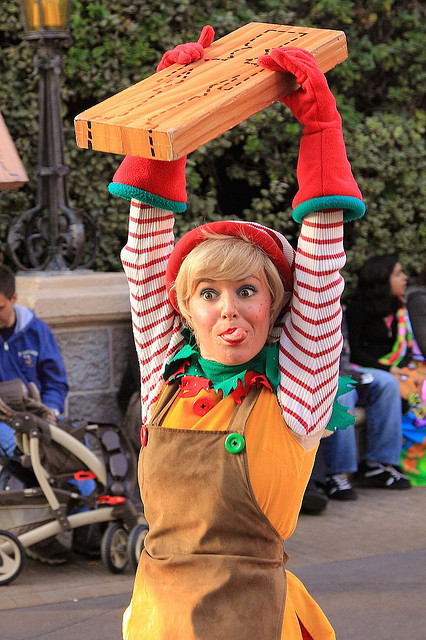 A Christmas Fantasy Parade: Toy Factory Elf by armadillo444 on Flickr.
