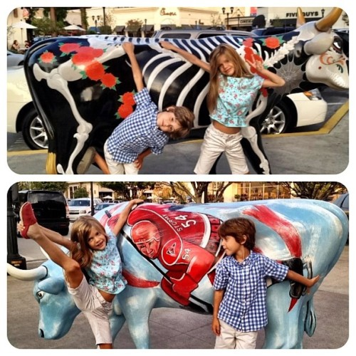 #kids and #cows (Taken with Instagram)