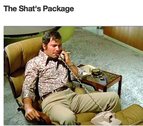 The Shat's Package