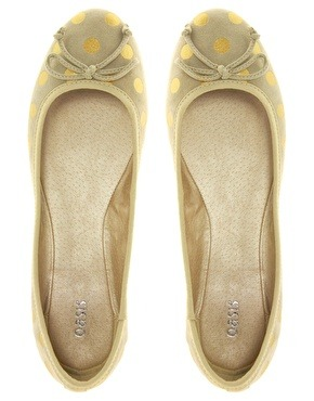 Oh, and these ASOS flats? They may not be black and white like the Kate Spade version, but they are seriously gorgeous. [$59.61, Click through to buy]