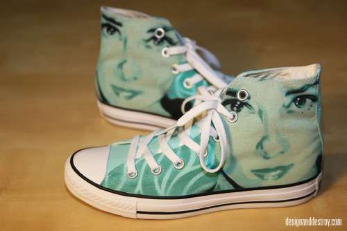 Custom painted Chuck Taylors