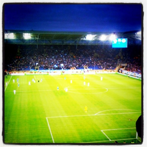 Tolko dnepr (Taken with Instagram at Дніпро-Арена / Dnipro-Arena)