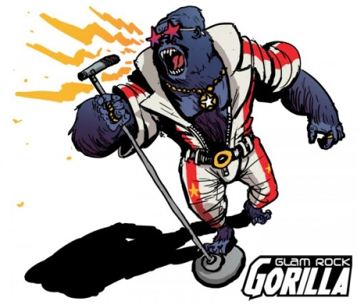 cusackclone:  This.  It's everything you love in one mighty gorilla!
