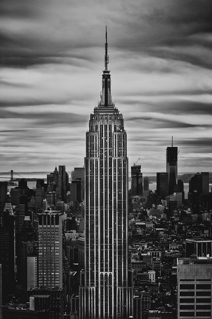 decoarchitecture:  Empire State Building, NYC, New York And yes, this is the theme of the next set of reblogs. There were be lots :)