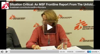 If you missed our Doctors Without Borders South Sudan webcast last night, the full recording is here.  Learn more about the situation in South Sudan.