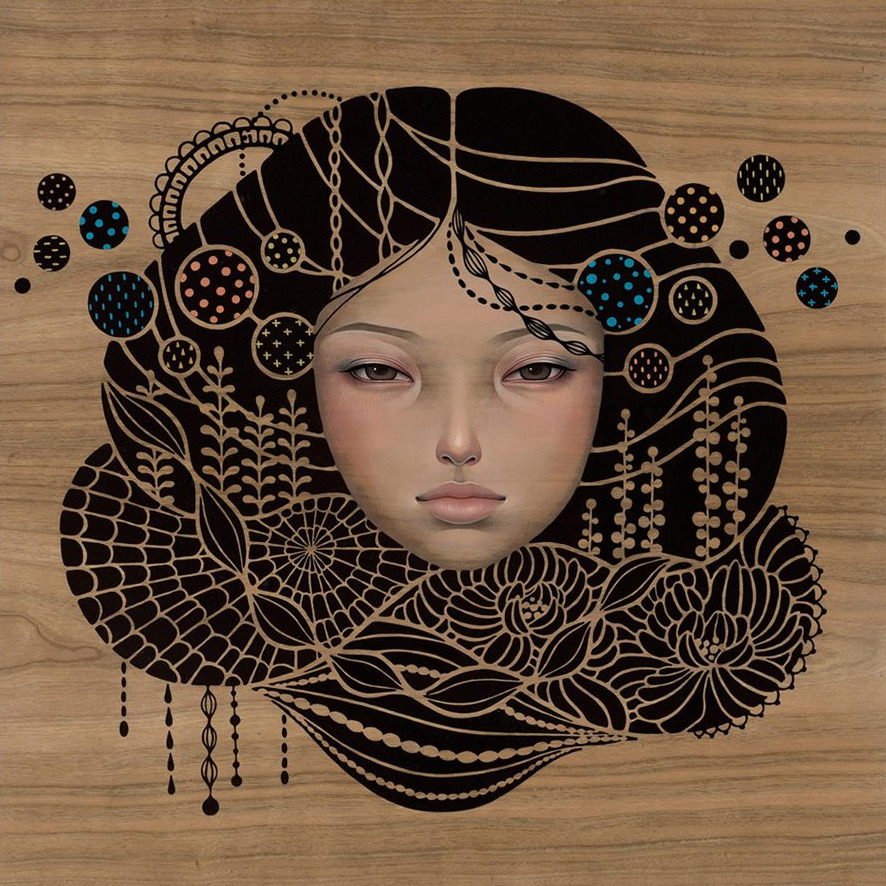 BoingBoing: Audrey Kawasaki: Exclusive First Look At New Paintings