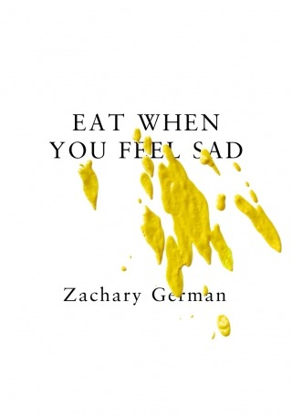 "[re-view of EAT WHEN YOU FEEL SAD by ZACHARY GERMAN] read excerpts of the book here: http://www.bearparade.com/eatwhenyoufeelsad/ ******* in EAT WHEN YOU FEEL SAD, Zachary German uses 'Robert' as narrator Robert does this, Robert does that we encounter Robert's everyday monotony, rendered with very little emotion I more than once thought of Camus' THE STRANGER the sentence structure in EWYFS is the most simple & repetitive I have literally ever read in a novel subject + verb + object, primarily hyper short & choppy sentences very little detail on emotion & 'interior' processing deliberately no story 'arch' here tao lin wrote a blurb for the back of this book, praising it, using words like 'revolutionary' & 'avant-garde' is it 'revolutionary'? it seems clear that Tao has 'influenced' Zachary or 'vice-versa' they used to live together Tao is arguably 'Sam' in EWYFS very extreme detail abt the titles of songs Robert listens to & abt the books & stories Robert reads this book includes an absurdly (& awesome) intricate index of all titles referenced & things like 'ebay' & 'eggs' from the book through this index & this heightened cultural specificity, zachary seems to be making cultural commentary abt the young 'indie' american 'scene' abt isolation in a world of commodification(?) abt connecting w/ music & literature more than ppl I (very subjectively) connected with much of the music & lit referenced very culturally & time specific does this isolate readers who come from other contexts? how much should that matter or not matter? this book seems to press up against humor sometimes & sometimes I laughed but often it wasn't very funny to me there are moments of admirable honesty: 'more like me, vain and judgmental and stuff' Robert says 'I don't know' constantly reflecting his numbness? the fact we all 'don't know' much? part of me feels like anyone could write something like this novel it is so minimal part of me feels like this is meticulously edited he places emphasis on the 'literal' rather than the 'figurative' like Tao was so interested in with RICHARD YATES nothing ornamental nothing overtly 'poetic' MY 7 FAVORITE MOMENTS OF THE BOOK 'when i make bank deposits i sometimes write your phone number instead of my account number by accident' 'He puts on his sweater. Robert thinks ""Would I watch someone on the street put on a sweater?"" He thinks ""Why haven't I asked myself that before?""' 'I want there to be a girl, and for it to be realistic. I want to live with a girl. We would make food together and ten we would eat food together. We would do dishes. I would do dishes and she would put things away. We'd lie in bed. What would I think about?' 'If I get Chinese food I'll feel okay for as long as it takes to eat the Chinese food. If I get twice as much Chinese food I'll feel okay for twice as long' 'I know what sound I would hear if I stepped on leaves' 'I know that nothing matters but I still live as though I think that something matters. No, maybe I don't. That's what I should do, though. No, I don't know.' 'Robert touches his cat. He says ""You douchebag."" He pets his cat. He smacks his cat's ass' ******* ultimately I felt mixed emotions abt this book while reading it it's 117 pages – it takes very little time to read the repeated sentence structure potentially gets redundant somehow it doesn't get as redundant as you might think when I got caught up thinking abt the sentence structure I would trail away from the content when I forgot abt the sentence structure I engaged with the content & the nuances of emotion"