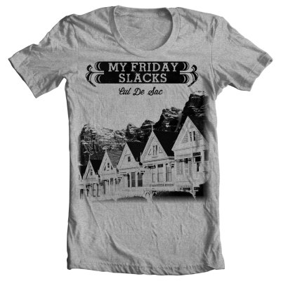 Client - My Friday SlacksLocation - Pittsburgh, PAShirt design. Interested in working together?  Email me - brianmorgante@gmail.com