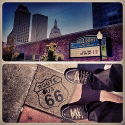 Gettin' my kicks, on #Route66. Playing the #IDLballroom tonight in #Tulsa, #Oklahoma.  (Taken with Instagram at IDL Ballroom)