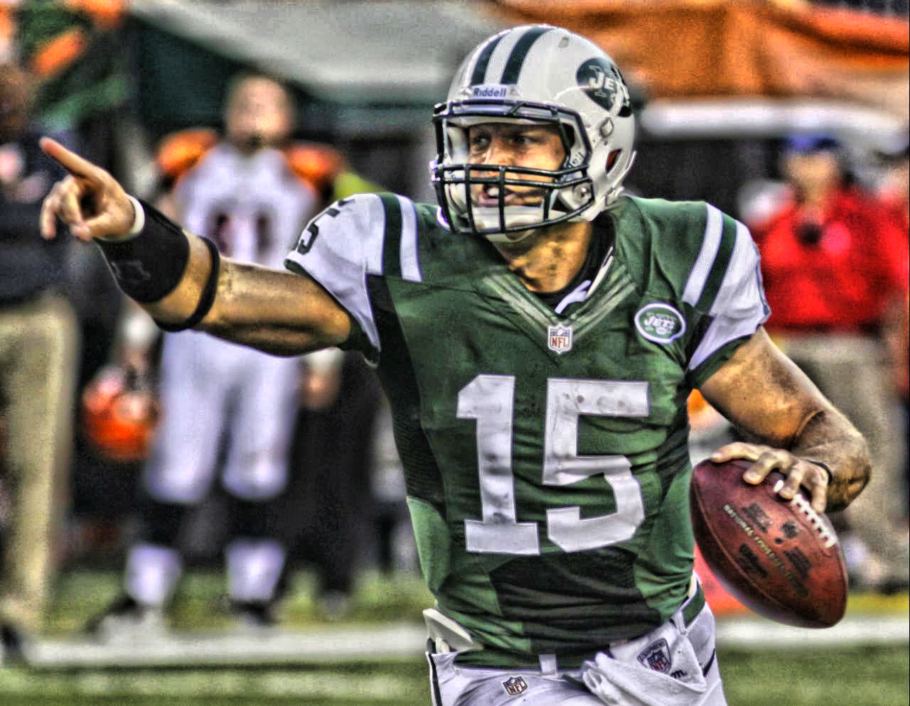 #Pointing Tim Tebow #Jets