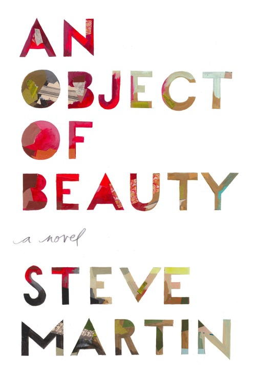 I just finished reading this book also. An Object of Beauty by Steve Martin. A cool story with many colour plates of the art work mentioned through the story. Art, sex and the FBI…