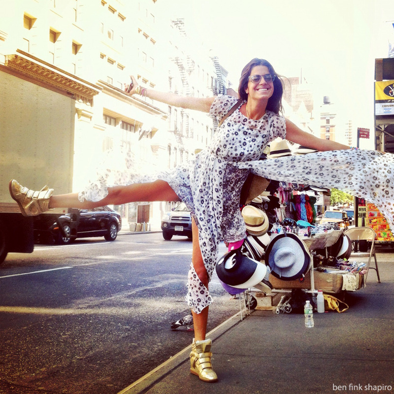 Man Repeller Leandra Medine has a leg up on super hot style.