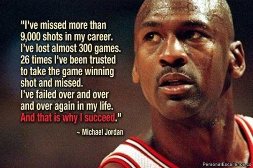& This is why Michael Jordan is the greatest basketball player of all time, because he never gave up.