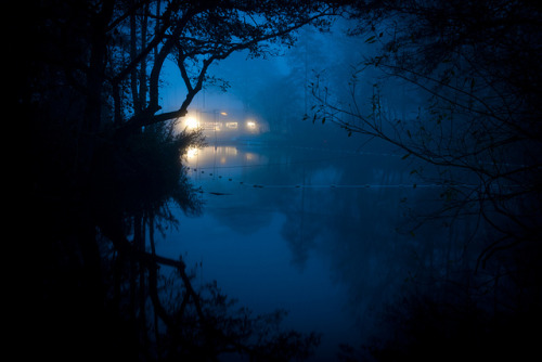 Blue (Bury Lake), Rickmansworth by flatworldsedge on Flickr.