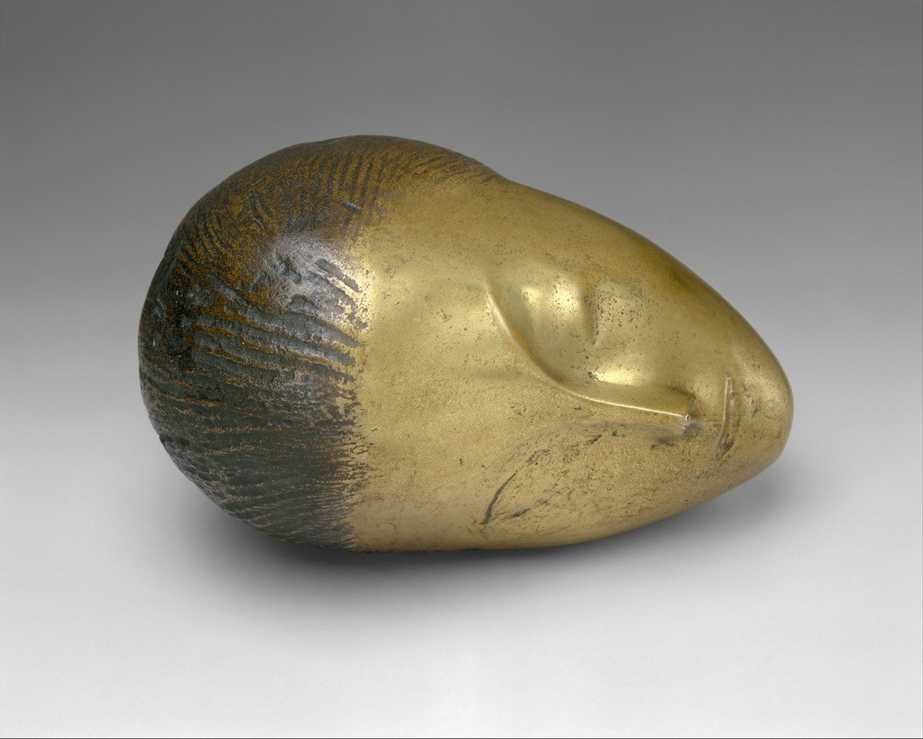 uncertaintimes:  Constantin Brancusi, Sleeping Muse, 1910