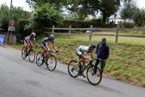 GP De Plouay-Bretagne 2012: Tiffany Cromwell (Orica - AIS) Leads the Break Of Elisa Longo Borhini And Marianne Vos, Photos | Cyclingnews.com More photos of the GP Plouay World Cup on Cyclingnews