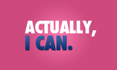 push-for-skinny:  maybe YOU can't, or wont. but I can and will
