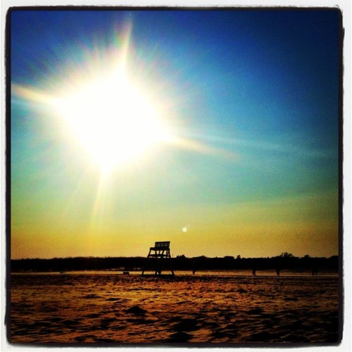 the #beach at #avalon  (Taken with Instagram at 40th Street Beach)