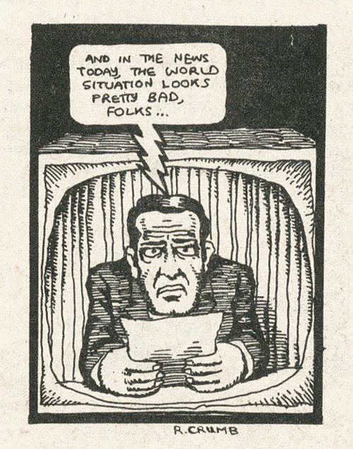 nevver:  Happy Birthday Robert Crumb