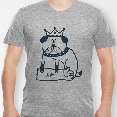 My dog hates me Available to buy from Society 6