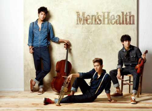 kmagazinelovers:  ZE:A Siwan, Dong Jun and Hyung Sik - Men's Health Magazine
