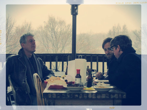 handcraftedinvirginia:  anthony bourdain and the black keys.