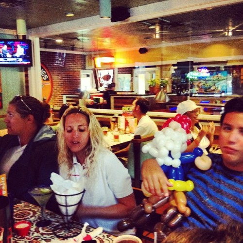 Chili's gnome.  (Taken with Instagram at Chili's Grill & Bar)