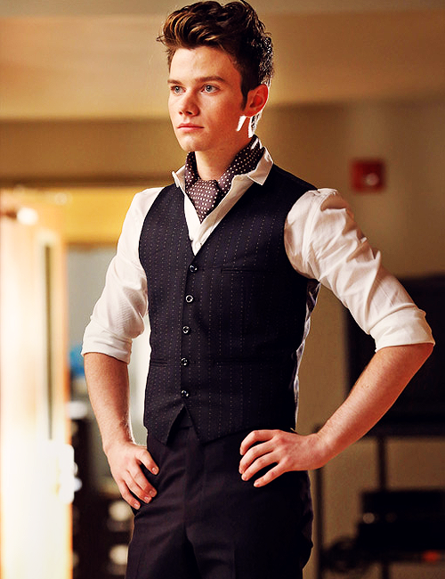 Goddamn, Chris Colfer.