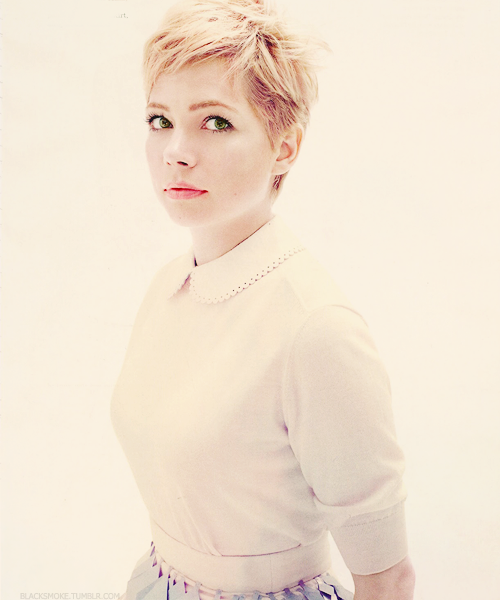 blacksmoke:  Michelle Williams for Elle
