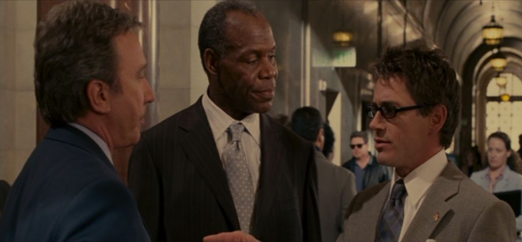 Tim Allen, Danny Glover and Robert Downey, Jr. in The Shaggy Dog, 2006.