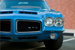 1972 Blue GTO by awadi on Flickr.