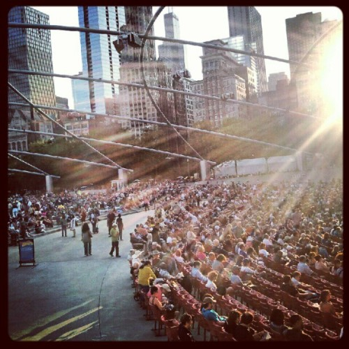 Milliennium Park, Chicago, World Class Jazz (Taken with Instagram)