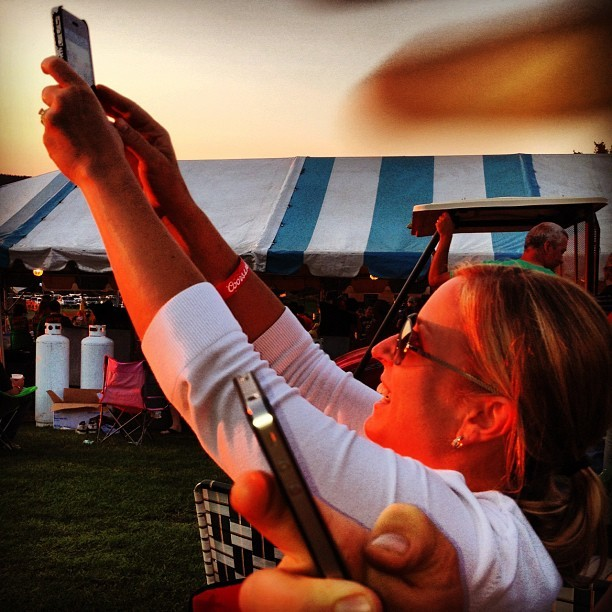 Sunset Shots (Taken with Instagram at Tussey Mountain Wingfest)