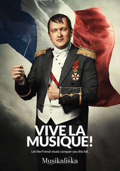 Musikaliska Concert Hall: Napoleon | Ads of the World™