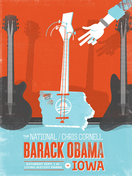 These posters just inspired Saturday's hashtag; #BaRockDSM. Still time to get a ticket for BaRockDSM, just go here: OFA.BO/DSMconcert
