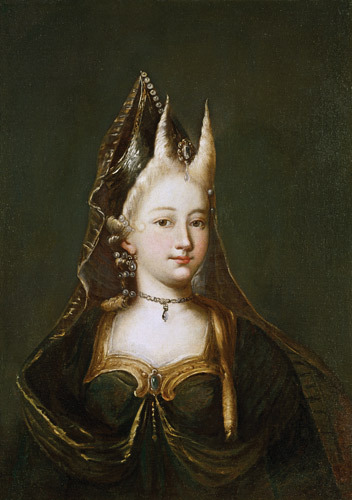 A Horned Witch, by Anonymous. 18th century.