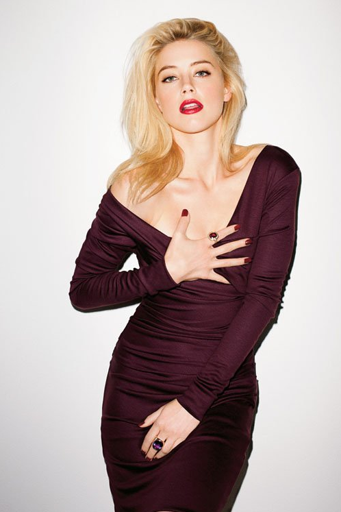 souslecieldesf:  Amber Heard by Terry Richardson for New York Times T Style Magazine Fall Fashion 2012