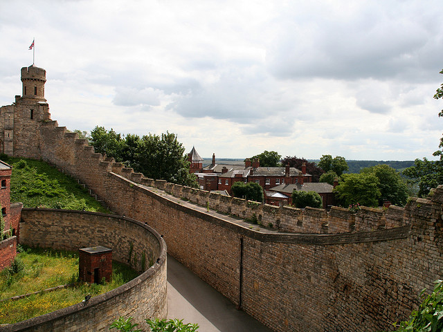 | ♕ |  Ramparts Walk of Lincoln Castle  | by © Steve Owen