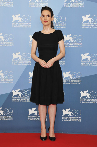 bohemea:  Winona Ryder - The Iceman photocall at the Venice Film Festival, August 30th 2012 Flawless!