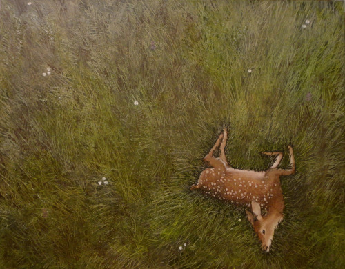 eatsleepdraw:  Insignificance; Oh dear.Oil on canvas.