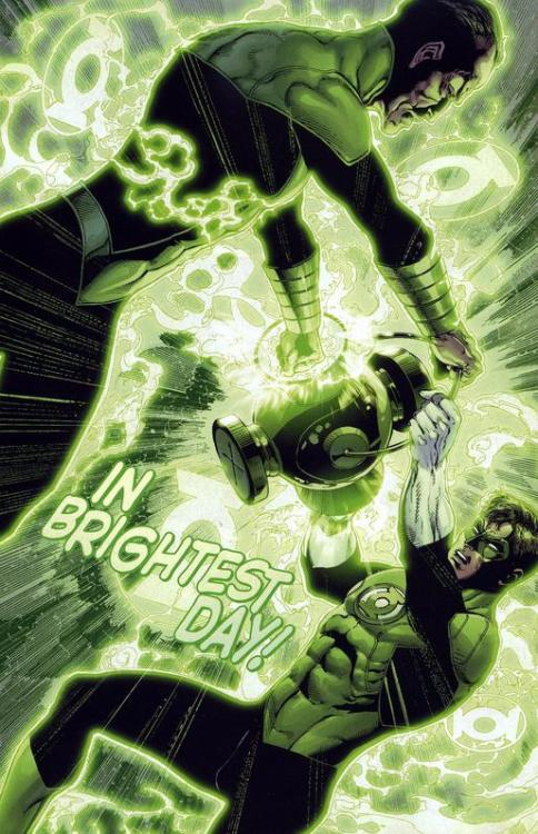 Can Ethan Van Sciver draw Green Lantern forever? PLEASE?