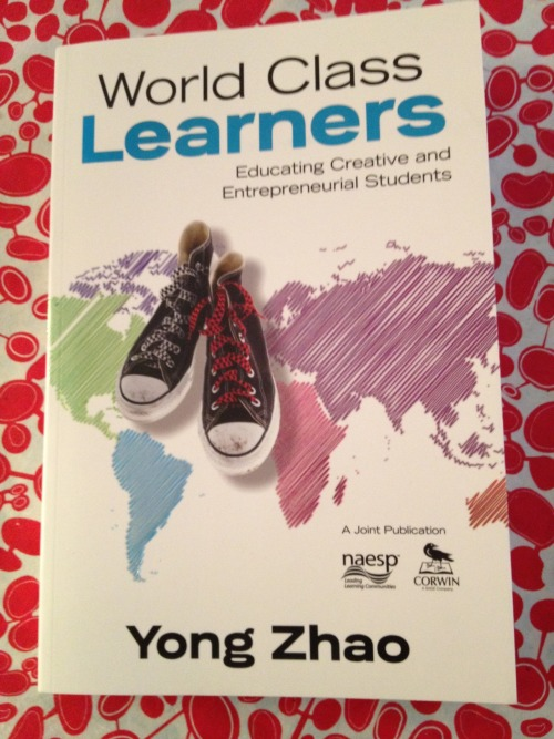 Reading Yong Zhao. Anyone else? Would love to be reading with a few others. Good incentive to finish it. Certainly relevant to #edstartup.
