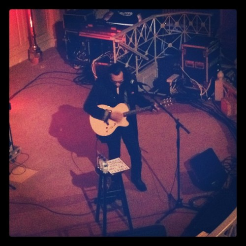 kittykittybangbang:  Rodriguez. (Taken with Instagram at Sixth & I Synagogue)