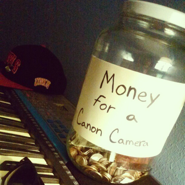 #money #canon #camera #cosmic #savings  (Taken with Instagram)
