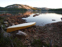 hobune:  Morning on Killarney Lake