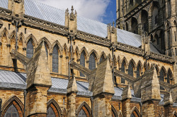 ysvoice:  | ♕ |  Buttresses of Lincoln Cathedral  | by © Brian Smith