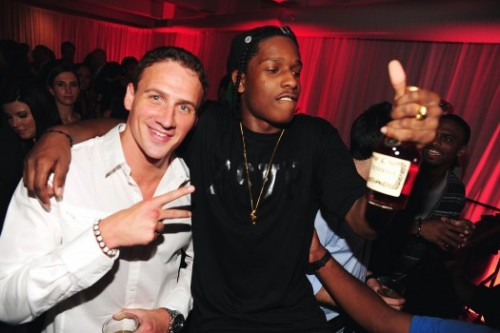 everyfuckingthingasaprocky:  Lochte & Rocky