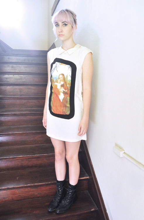 a new blog post with a jesus dress