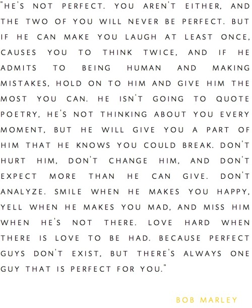 untitled-mag:  Bob Marley on love